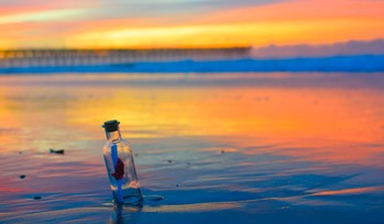 The Surprising Journey of a Message‐in‐a‐Bottle