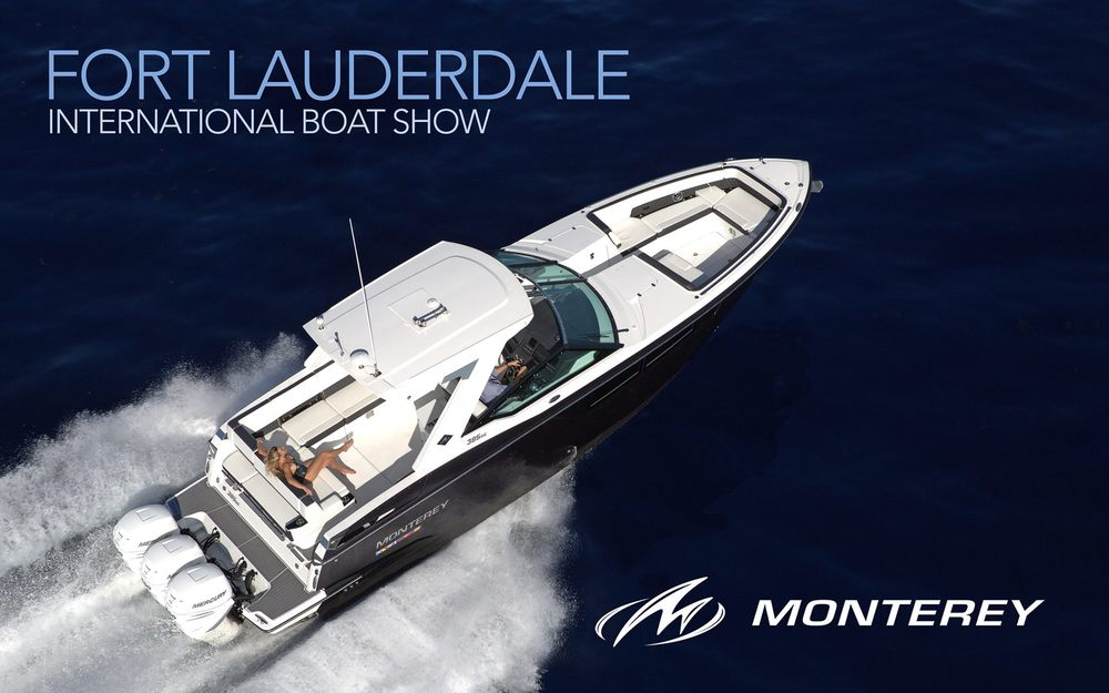 Monterey Boats Debuts the 305SS at Fort Lauderdale International Boat Show