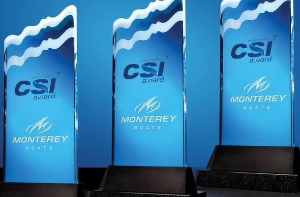 CSI Awards for Monterey Boats in Three Categories