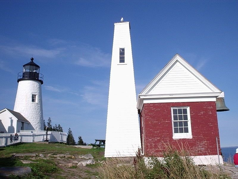 North American Lighthouses: Pemaquid Point Light
