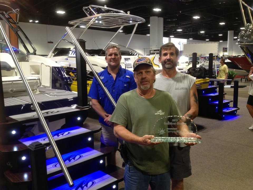 Tampa Boat Show- 2012 Best Boat Display!