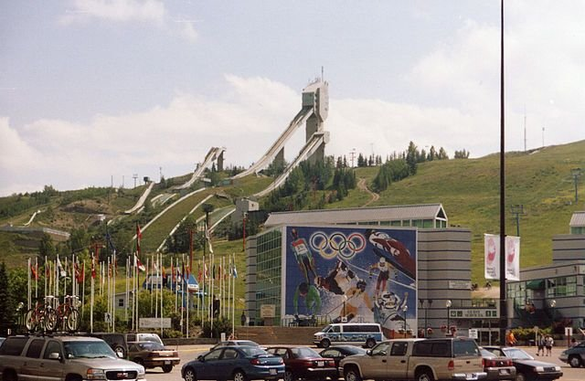 Welcome to Calgary! Home of the 1988 Winter Olympics!