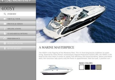Monterey Boats Win Silver ADDY Award for Monterey Boats App!