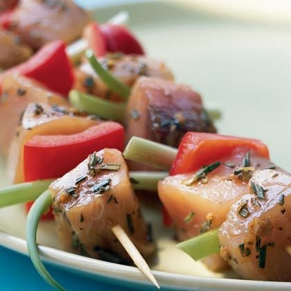Grilled Fish Kabobs