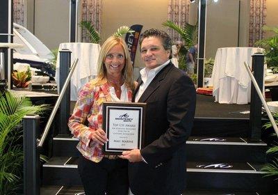 Monterey Boats Awards Top CSI Dealers