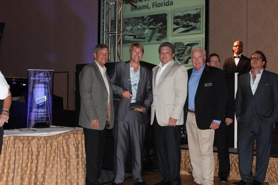 Monterey Boats Announces Top Performing Dealers for 2013!