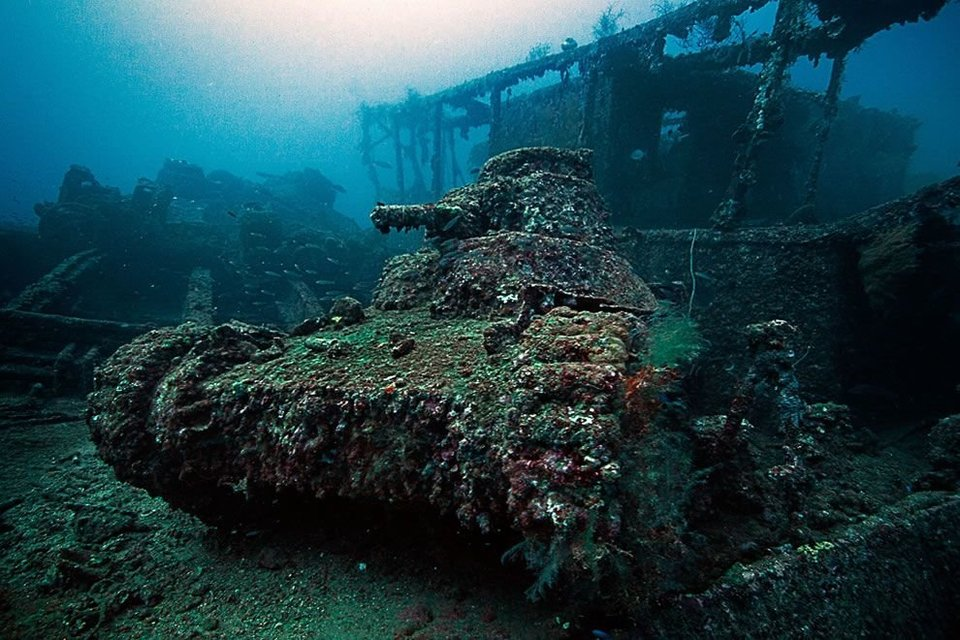 Ghost Fleet of Truk Lagoon