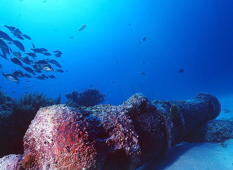 Scuba Diving's Colorful History