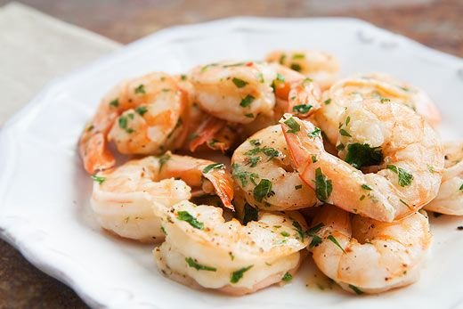 Shrimp Scampi in a Flash