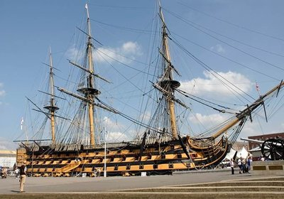 Onboard the HMS Victory
