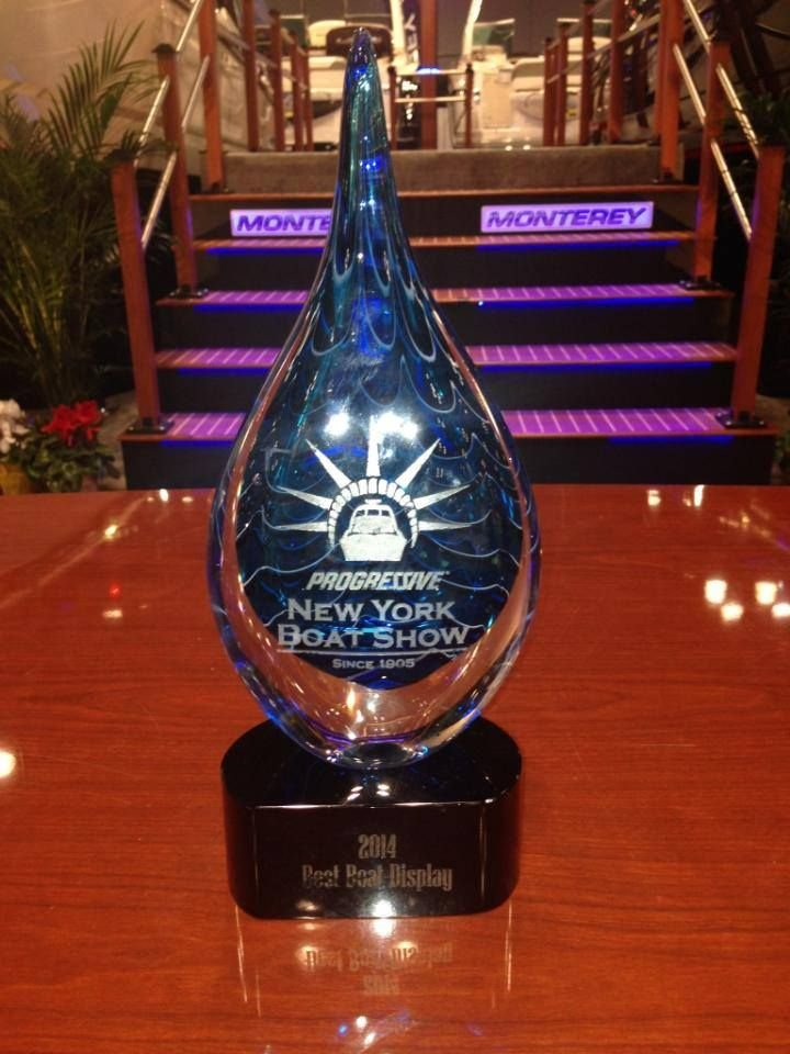 MONTERY BOATS TAKES TOP HONOR AT THE NEW YORK BOAT SHOW!