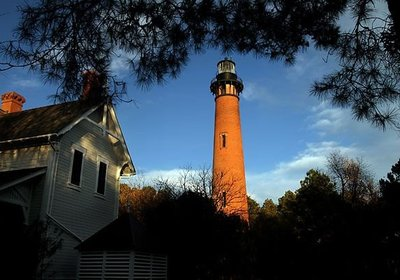 The Currituck Beach Lighthouse
