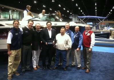 Monterey Boats Wins Best Boat Display at 2014 Chicago Boat Show!