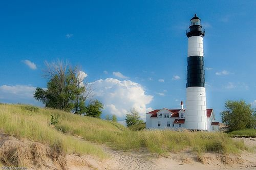 Touring the Big Sable Point Lighthouse