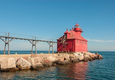 Sturgeon Bay, Lake Michigan, A Coast Guard City and Bass Fishing Paradise
