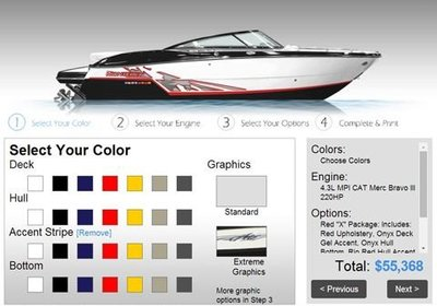 Monterey Boats Announces New Build A Boat Program Enhancement