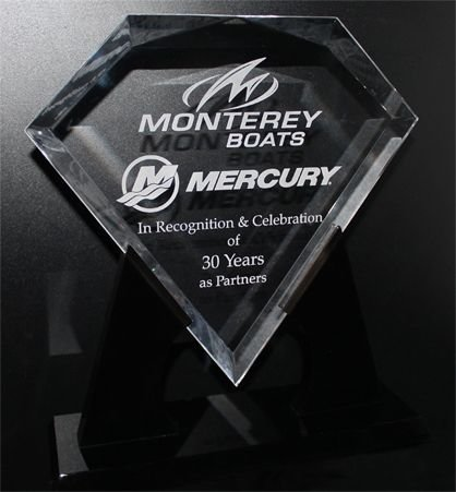 MERCURY MARINE HONORS MONTEREY BOATS