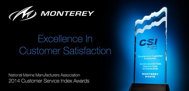 Monterey Boats Recognized With Marine Industry CSI Award