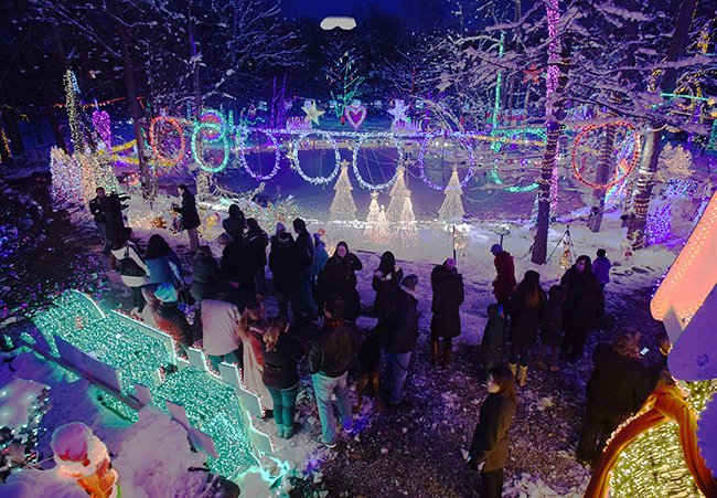 Holiday Inspiration: The Most Impressive Light Displays