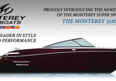 Introducing Monterey Boats New 258SS!