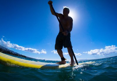 More Water Fun: Stand-Up Paddle Boarding