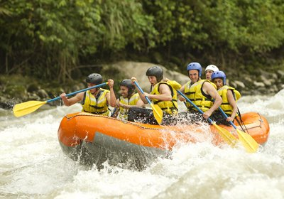 Summertime Adventure: Whitewater Rafting