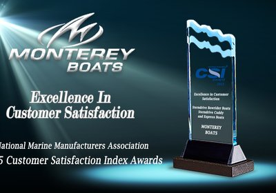 Monterey Boats Honored With Marine Industry CSI Award
