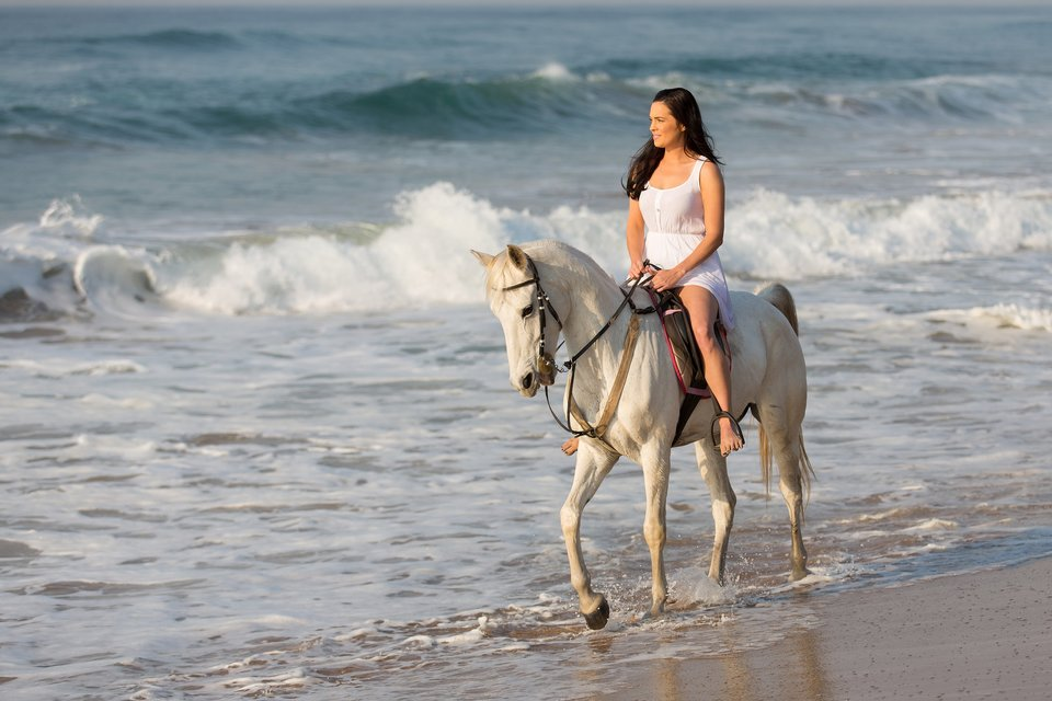 How to go Horseback Riding at the Beach