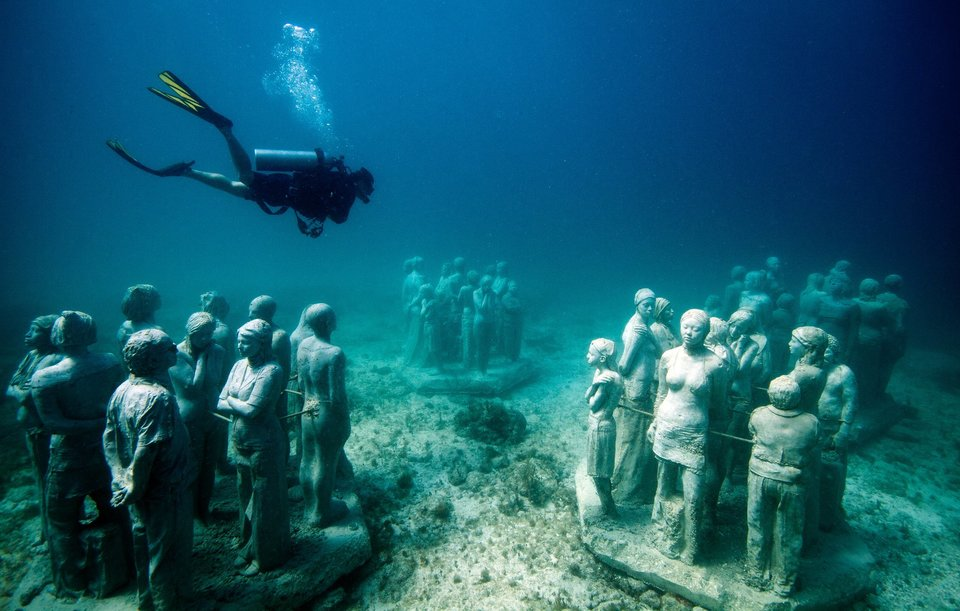 A Look at MUSA: Mexico's Underwater Museum