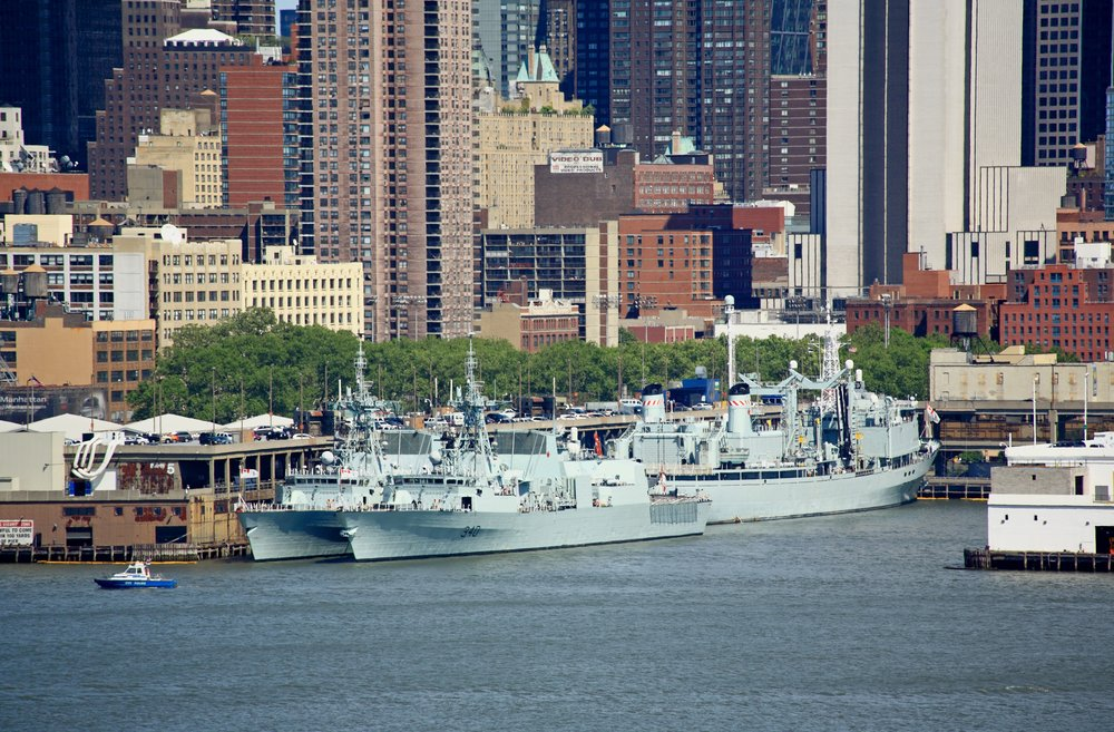 Enjoying Fleet Week New York City