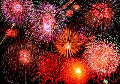 Top Fireworks Displays For The Fourth Of July, 2016