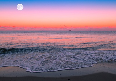 Moon Watching from Your Monterey