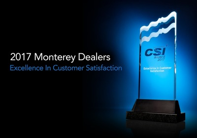 Top Ten Monterey CSI Dealers for 2017