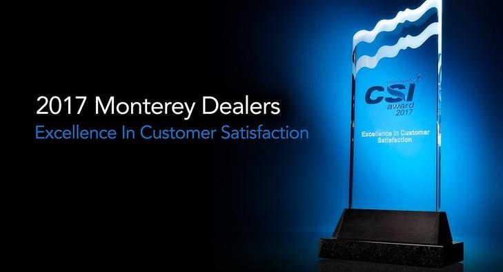 Top Ten Monterey CSI Dealers for 2017