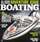 Monterey 305SS: Boating Magazine Cover Issue And Boat Test & Review