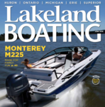 Lakeland Boating Magazine's June M225 Cover and Boat Test & Review