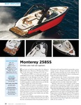 Lakeland Boating Features Monterey's 258SS