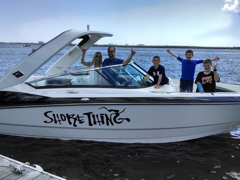 Jeff and his family enjoying their new 288 in New Jersey!