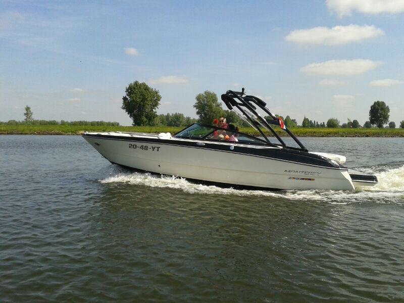 """Paxton B. enjoying his Monterey 214SS in the Netherlands!"""