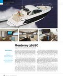 Monterey 360SC Featured In Boating Spotlight of April Edition of Lakeland Boating!