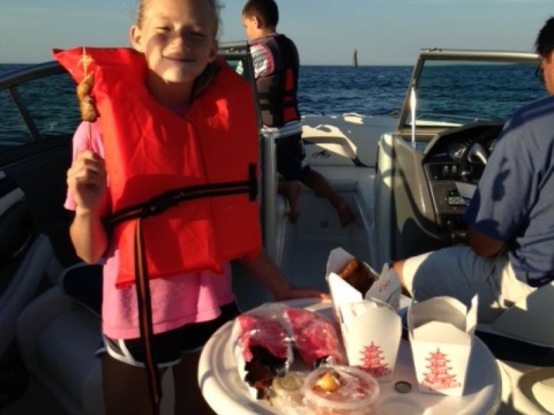 The Kierce Family Chinese takeout food and fishing!