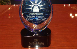 Monterey Takes Top Honor at New York Boat Show!