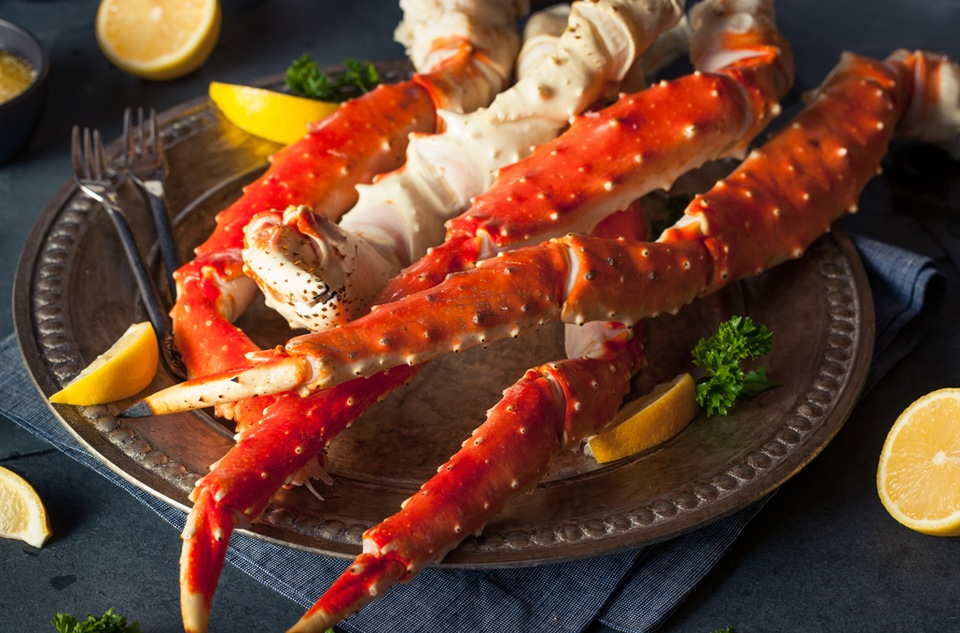 Pacific Northwest King Crab